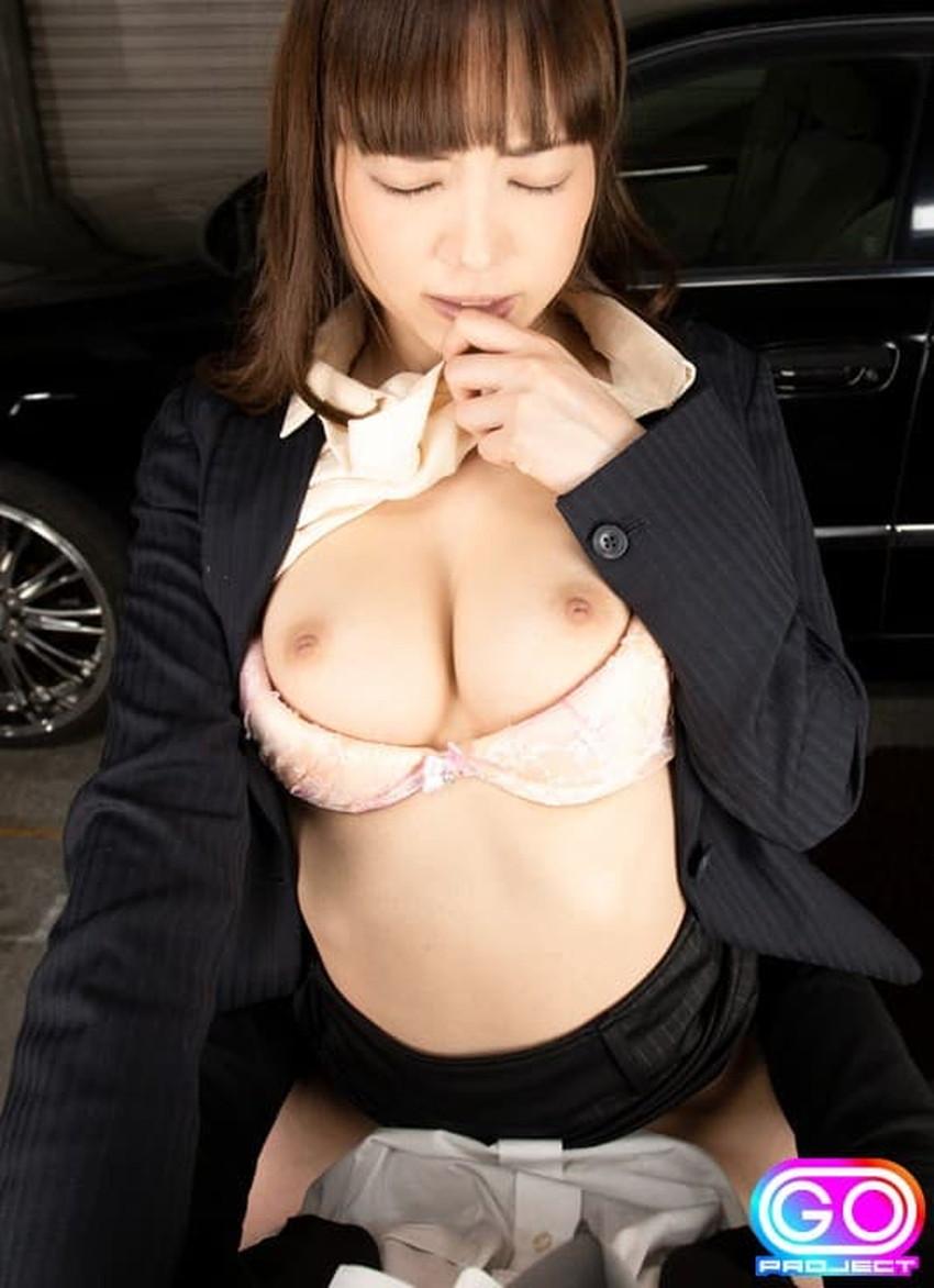 【セールスウーマンエロ画像】パンチラや胸チラで誘惑して枕営業セックスしてくれる保険やカーショップのセールスウーマンたちのエロ画像集!w【80枚】 55