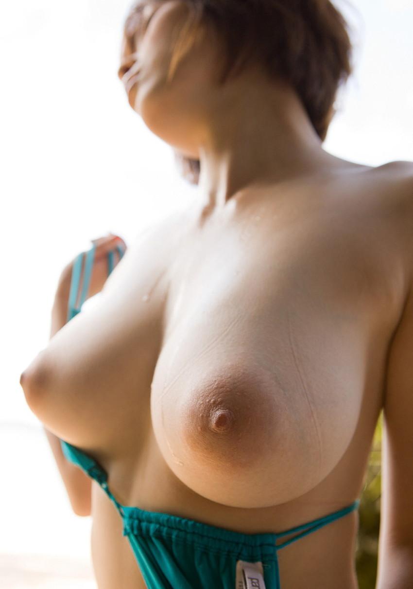【Gカップエロ画像】肩こり必至の超爆乳Gカップ娘が神乳露出して誘惑してくれてるGカップのエロ画像集!!ww【80枚】 32