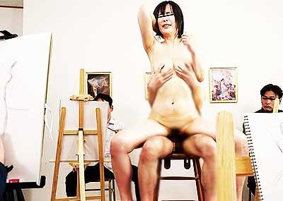 【ヌードモデルエロ画像】デッサン用のヌードモデルがエロ過ぎてスケッチそっちのけで輪姦しちゃうヌードモデルのエロ画像集!ww【80枚】
