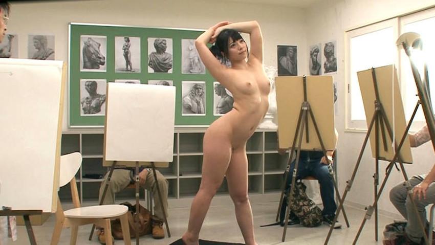 【ヌードモデルエロ画像】デッサン用のヌードモデルがエロ過ぎてスケッチそっちのけで輪姦しちゃうヌードモデルのエロ画像集!ww【80枚】 04