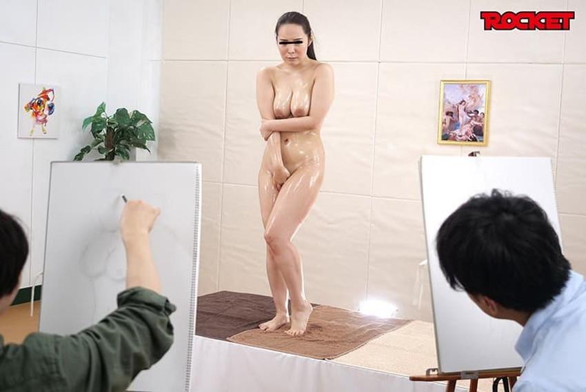【ヌードモデルエロ画像】デッサン用のヌードモデルがエロ過ぎてスケッチそっちのけで輪姦しちゃうヌードモデルのエロ画像集!ww【80枚】 05