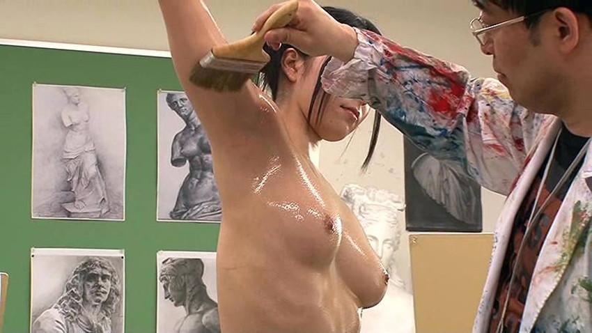 【ヌードモデルエロ画像】デッサン用のヌードモデルがエロ過ぎてスケッチそっちのけで輪姦しちゃうヌードモデルのエロ画像集!ww【80枚】 12