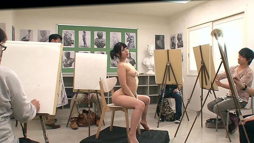 【ヌードモデルエロ画像】デッサン用のヌードモデルがエロ過ぎてスケッチそっちのけで輪姦しちゃうヌードモデルのエロ画像集!ww【80枚】 15