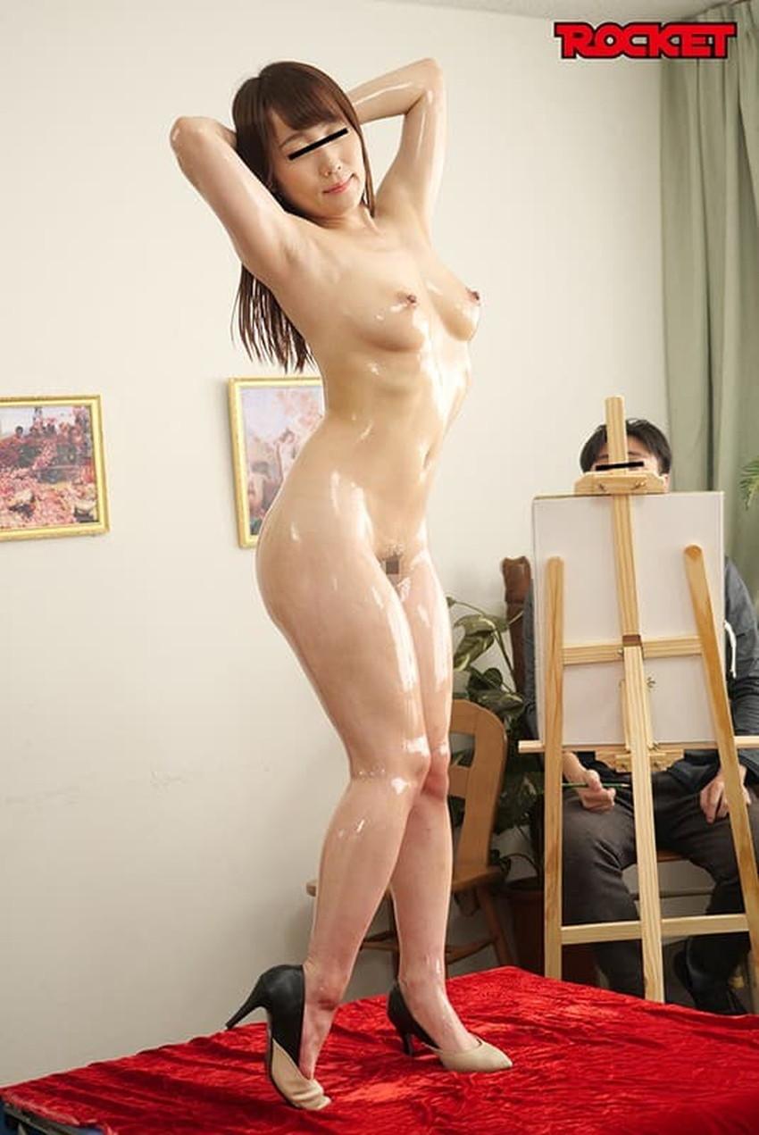 【ヌードモデルエロ画像】デッサン用のヌードモデルがエロ過ぎてスケッチそっちのけで輪姦しちゃうヌードモデルのエロ画像集!ww【80枚】 32