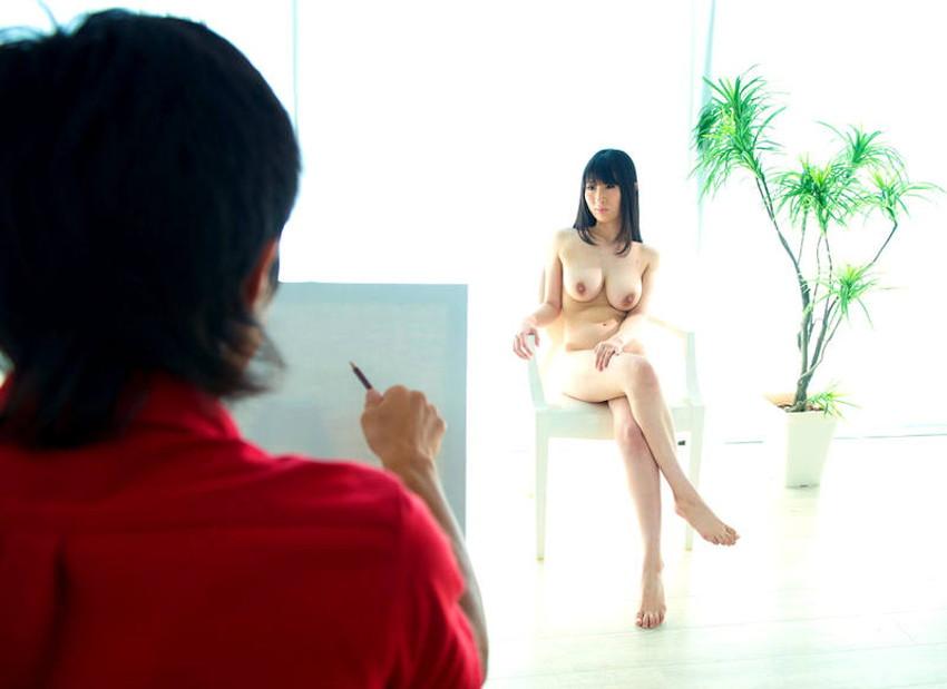【ヌードモデルエロ画像】デッサン用のヌードモデルがエロ過ぎてスケッチそっちのけで輪姦しちゃうヌードモデルのエロ画像集!ww【80枚】 48