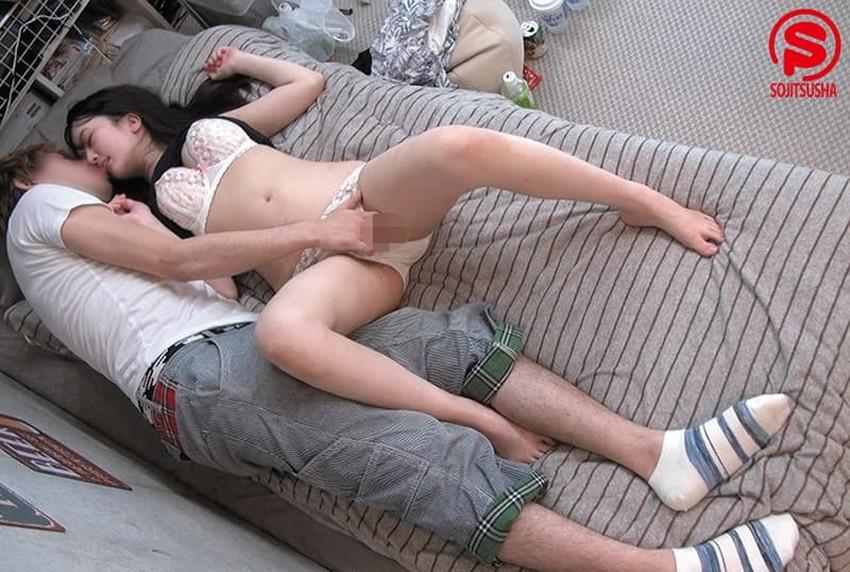 【連れ込みセックスエロ画像】素人のJDやOLを宅飲みで寝取る様子を盗撮して勝手に公開してる連れ込みセックスのエロ画像集!w【80枚】 04