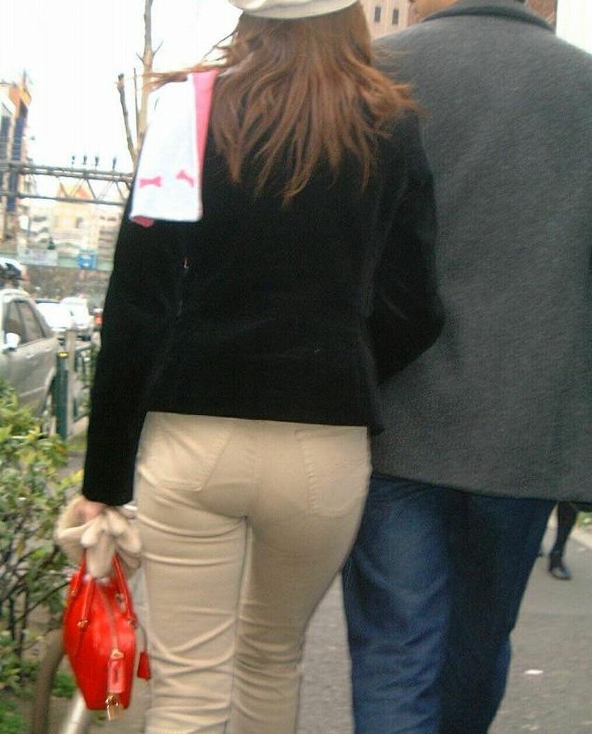 【パン線エロ画像】パンティーライン丸見えのパン線女子は全裸よりもエロいことに気がついていないパン線エロ画像集!ww【80枚】 20