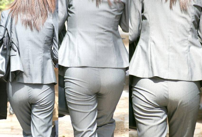 【パン線エロ画像】パンティーライン丸見えのパン線女子は全裸よりもエロいことに気がついていないパン線エロ画像集!ww【80枚】 30