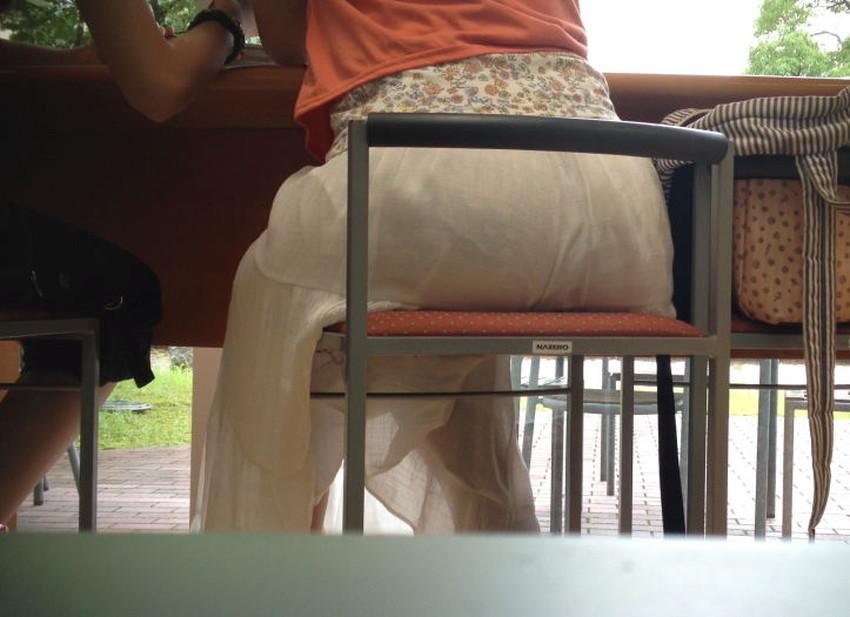 【パン線エロ画像】パンティーライン丸見えのパン線女子は全裸よりもエロいことに気がついていないパン線エロ画像集!ww【80枚】 34