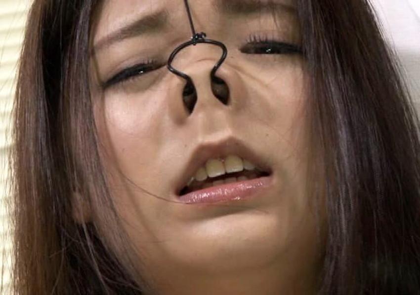 【鼻フック調教エロ画像】美女が鼻フック調教されてビッチなドマゾ化していく姿が堪らない鼻フック調教のエロ画像集!ww【80枚】 13