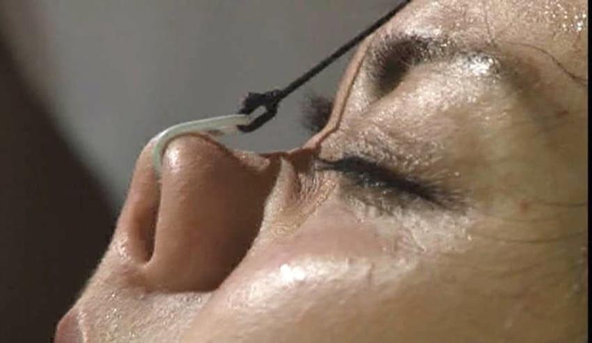 【鼻フック調教エロ画像】美女が鼻フック調教されてビッチなドマゾ化していく姿が堪らない鼻フック調教のエロ画像集!ww【80枚】 29