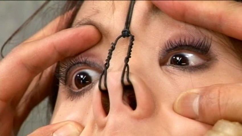 【鼻フック調教エロ画像】美女が鼻フック調教されてビッチなドマゾ化していく姿が堪らない鼻フック調教のエロ画像集!ww【80枚】 37