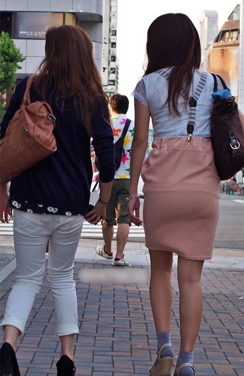 【透けパンツエロ画像】パンツ丸見えよりもタイトスカートや履いて下着が透けてる素人女子のほうが興奮しちゃう透けパンツのエロ画像酒!ww【80枚】 02