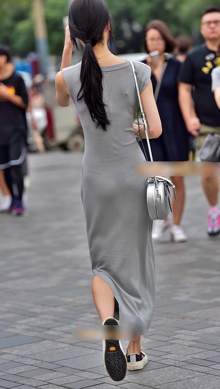 【透けパンツエロ画像】パンツ丸見えよりもタイトスカートや履いて下着が透けてる素人女子のほうが興奮しちゃう透けパンツのエロ画像酒!ww【80枚】 07
