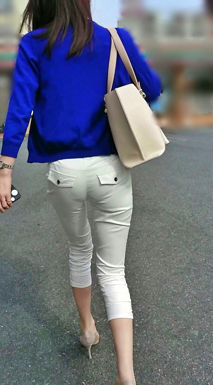 【透けパンツエロ画像】パンツ丸見えよりもタイトスカートや履いて下着が透けてる素人女子のほうが興奮しちゃう透けパンツのエロ画像酒!ww【80枚】 35
