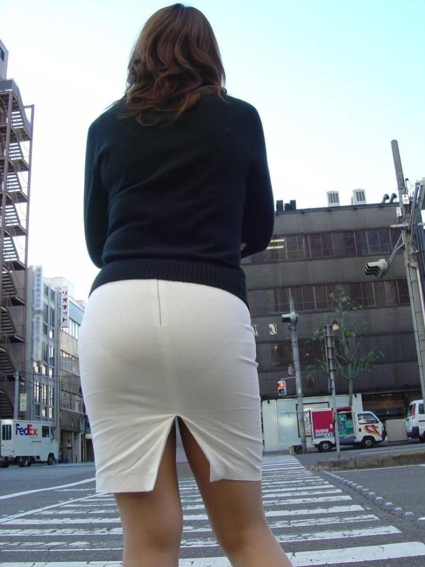 【透けパンツエロ画像】パンツ丸見えよりもタイトスカートや履いて下着が透けてる素人女子のほうが興奮しちゃう透けパンツのエロ画像酒!ww【80枚】 63