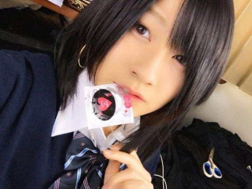 【咥えコンドームエロ画像】今にもコンドームをフェラで装着してくれそうな咥えコンドームのエロ画像集!ww【80枚】 11