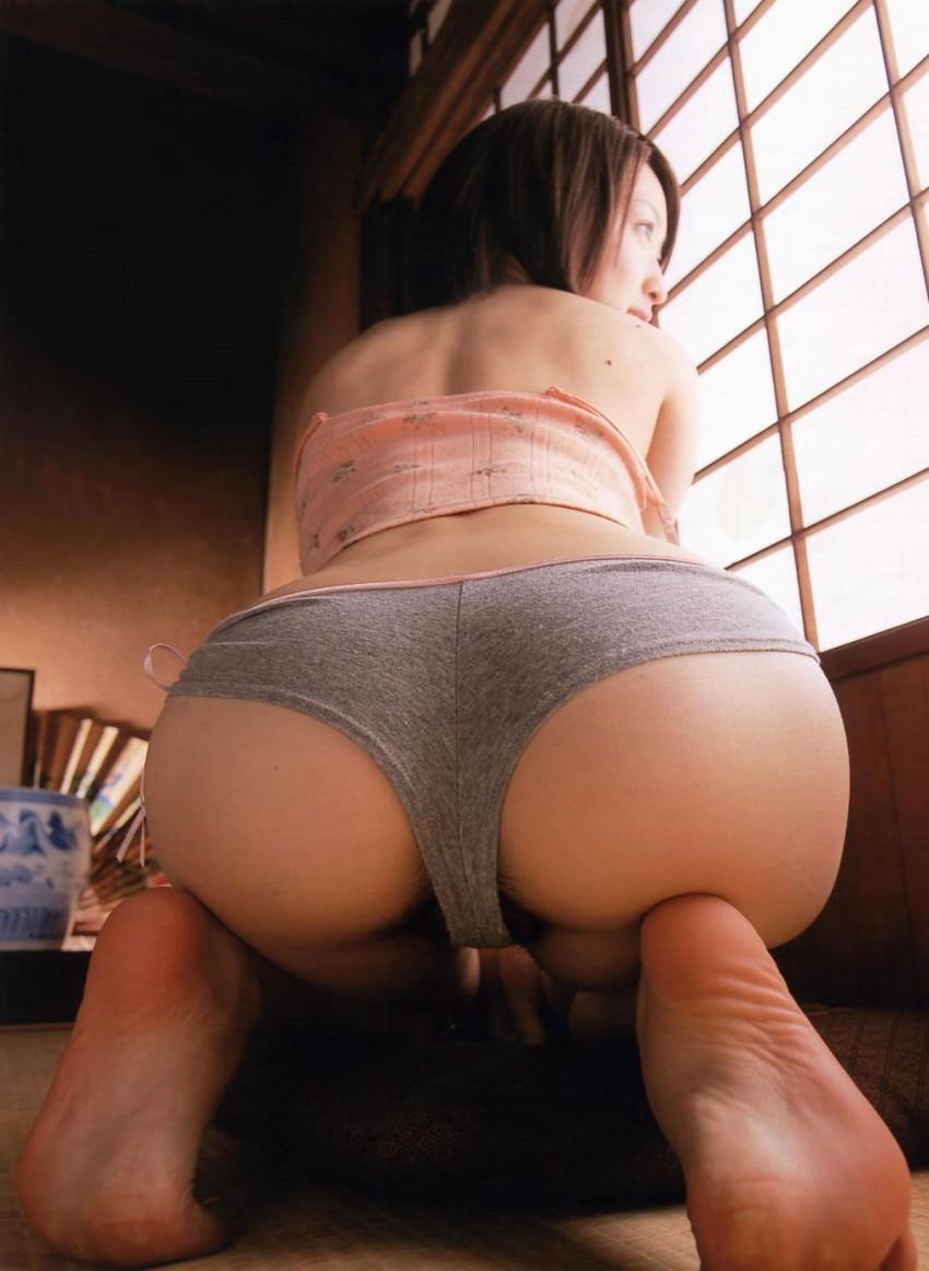 【美尻エロ画像】美しく丸みを帯びた女の子の美尻ってめっちゃシコだな! 15