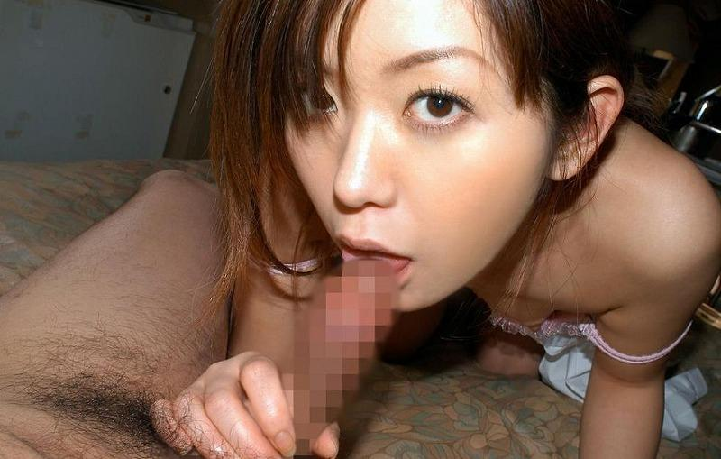【フェラチオエロ画像】セックス前に女の子に奉仕させるプレイっていったらこれだよな! 19