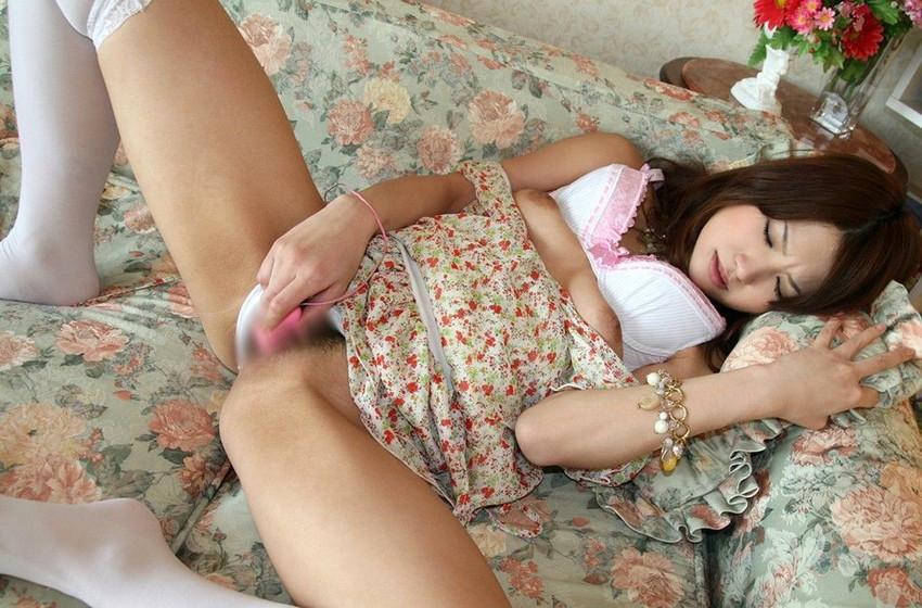 【ローターオナニーエロ画像】ローターでオナニーに浸る女の子のエロすぎる姿! 52