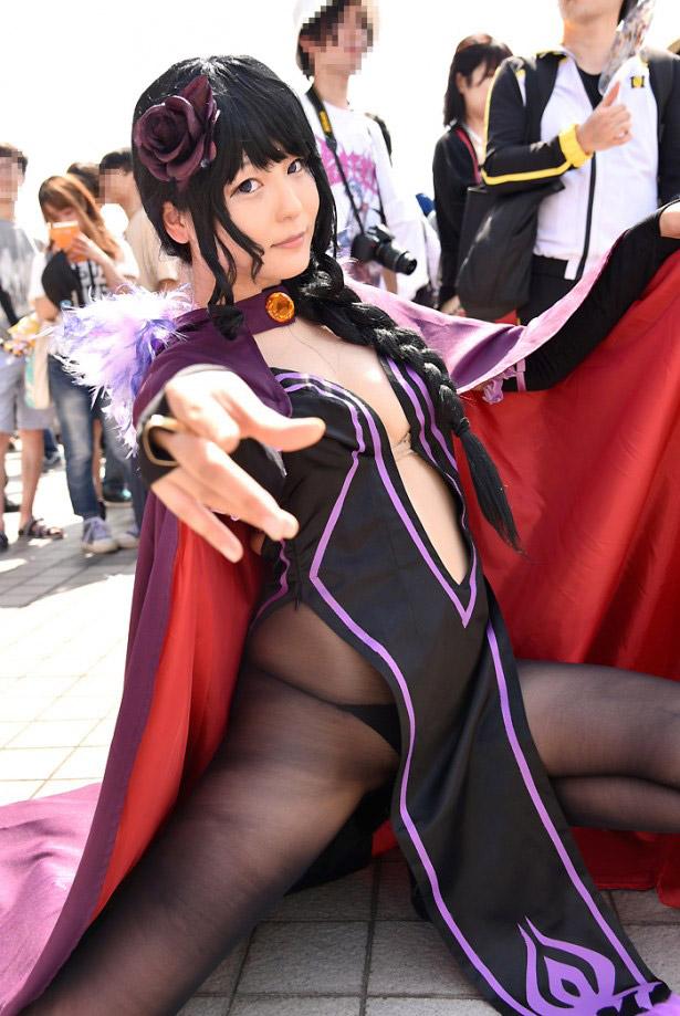 【コミケエロ画像】イベント会場で過激衣装で観衆を魅了するコスプレイヤー! 41