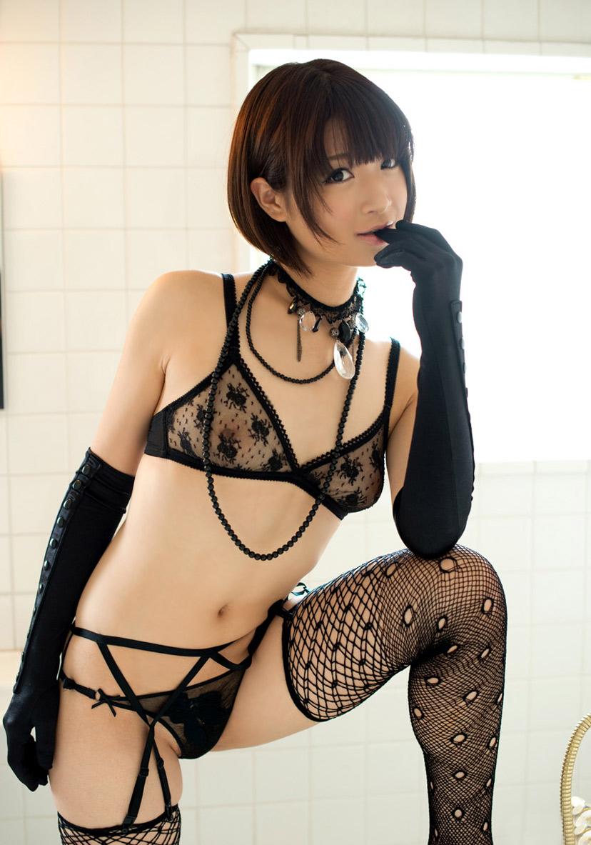 【スケスケ下着エロ画像】まるで裸と大差ないセクシーすぎるランジェリー! 28