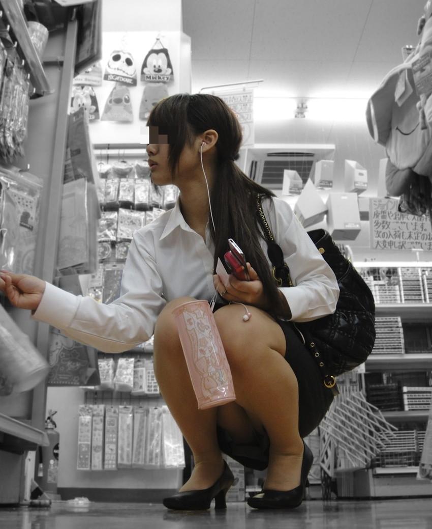 【街撮りパンチラエロ画像】偶然見つけた街中の女の子たちのパンチラがエロい! 30