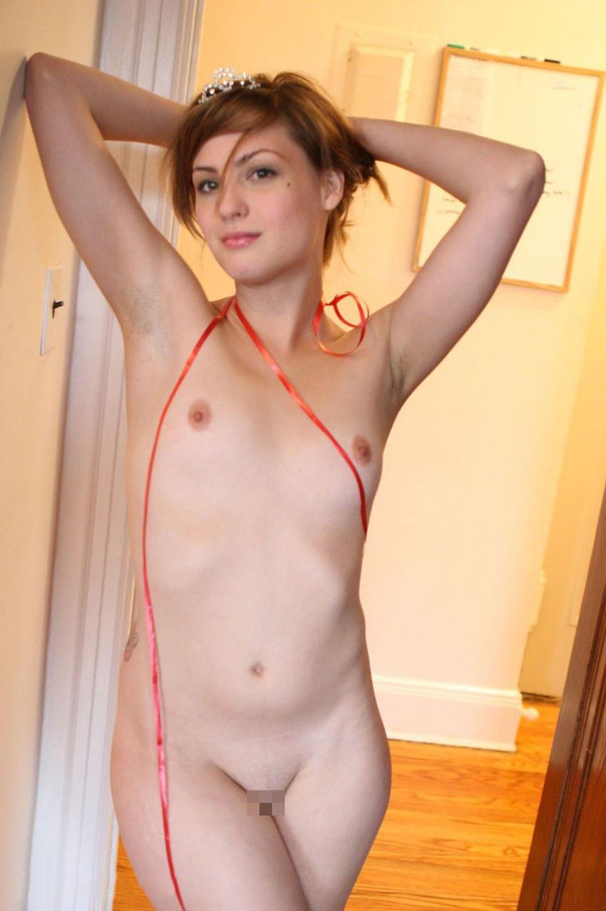 【洋物ちっぱいエロ画像】海外女性イコール巨乳は間違っている!ちっぱいの海外女子! 52