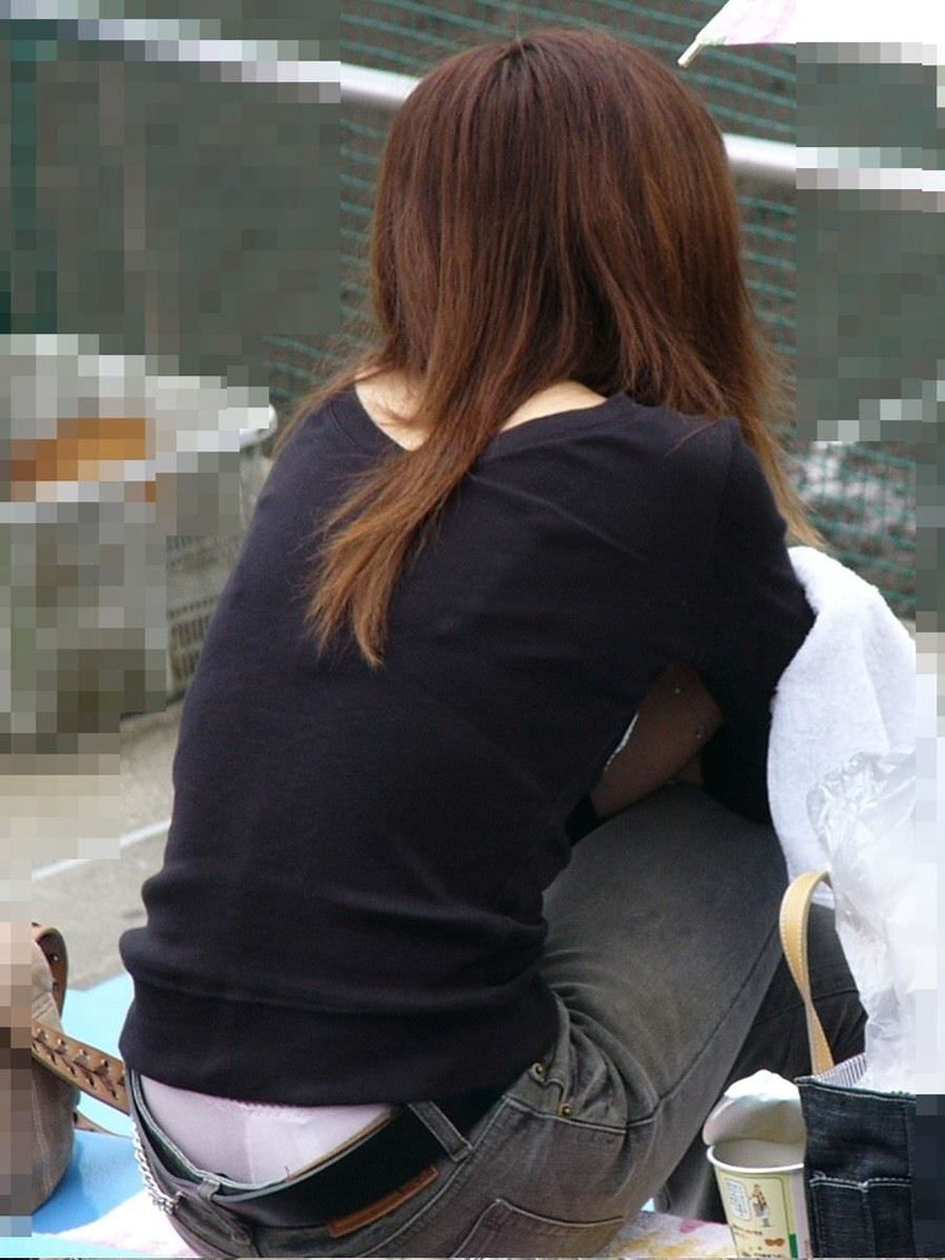 【ローライズエロ画像】ローライズというパンチラし放題のファッションエロ杉! 28