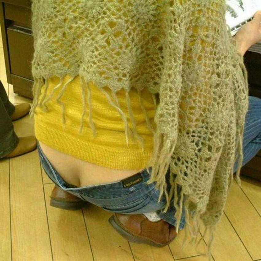 【ローライズエロ画像】ローライズというパンチラし放題のファッションエロ杉! 37