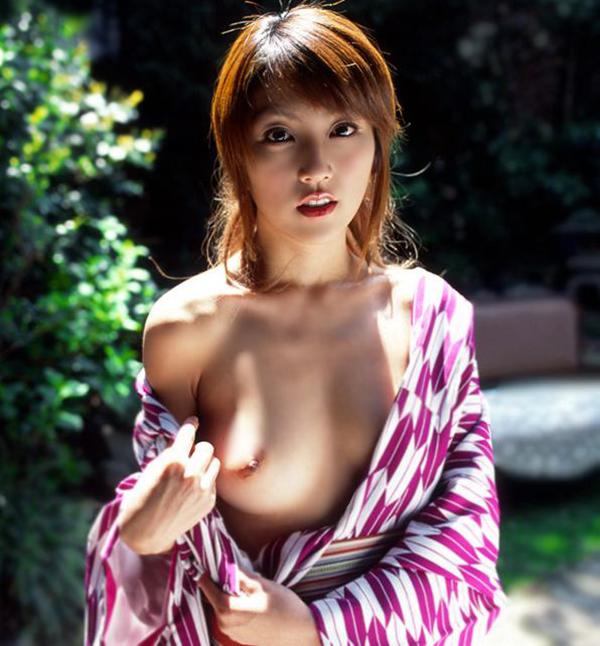 【和服エロ画像】和服姿のエロカワな女の子!これぞまさに大和撫子!? 10