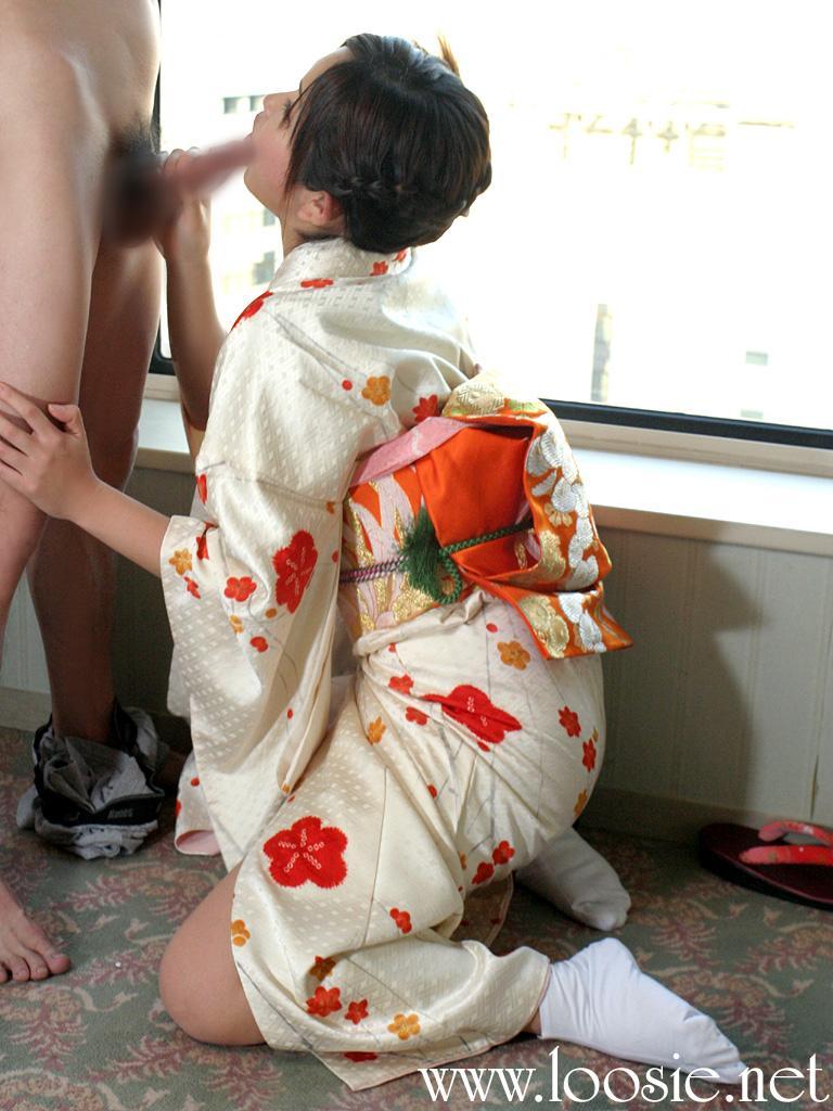 【和服エロ画像】和服姿のエロカワな女の子!これぞまさに大和撫子!? 27