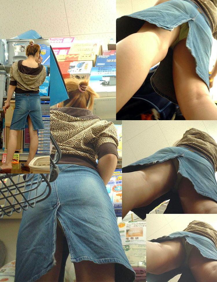 【パンチラ盗撮エロ画像】油断大敵!不本意にもパンチラを盗撮されてしまった女の子! 19