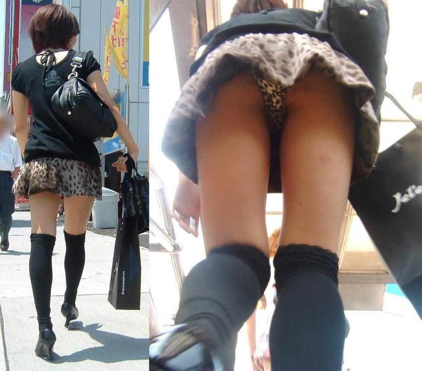 【パンチラ盗撮エロ画像】油断大敵!不本意にもパンチラを盗撮されてしまった女の子! 33