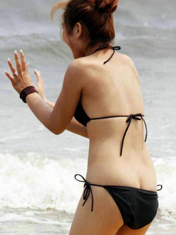 【素人水着エロ画像】ガチ素人娘たちの水着姿が生々しくて抜けるッ! 30