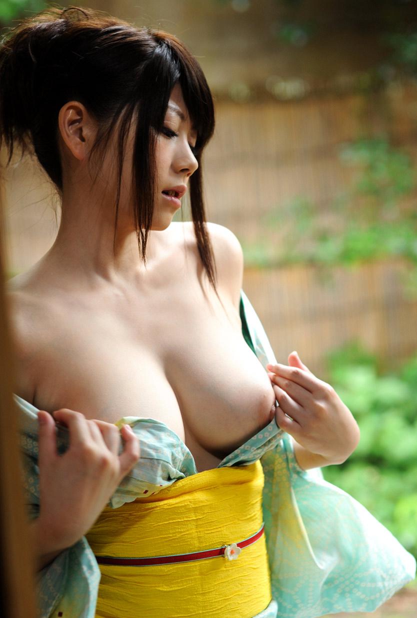 【和服エロ画像】和服姿の色っぽい女の子のエロ画像集めてみたぞ!www 34