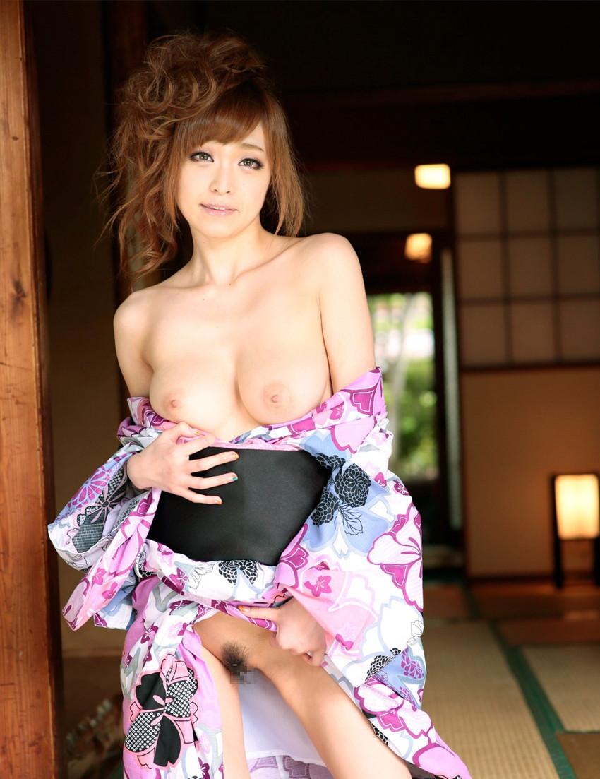 【和服エロ画像】和服姿の色っぽい女の子のエロ画像集めてみたぞ!www 46
