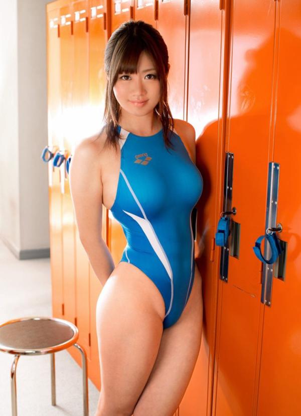 【水着エロ画像】時期はまだ早いけど女の子の水着ならいつ見ても良いなwww 12