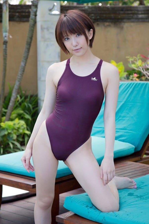 【水着エロ画像】時期はまだ早いけど女の子の水着ならいつ見ても良いなwww 17