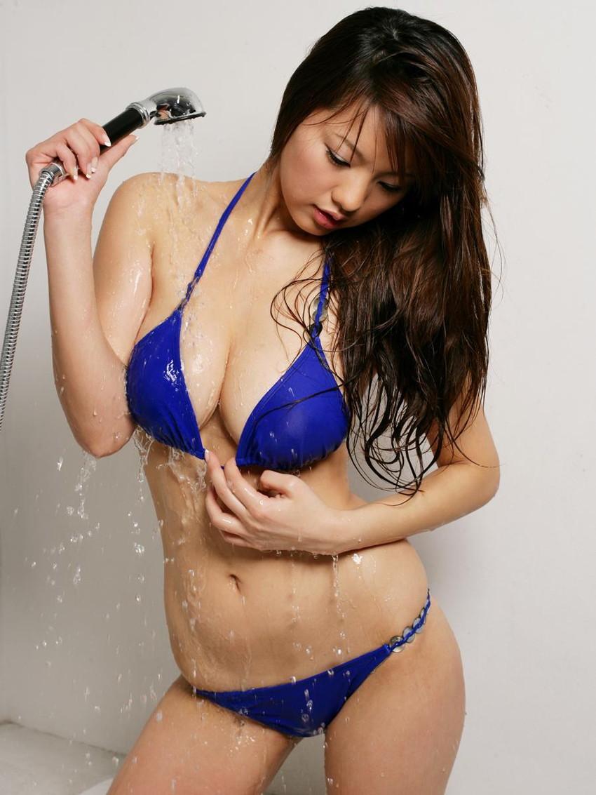 【水着エロ画像】時期はまだ早いけど女の子の水着ならいつ見ても良いなwww 36