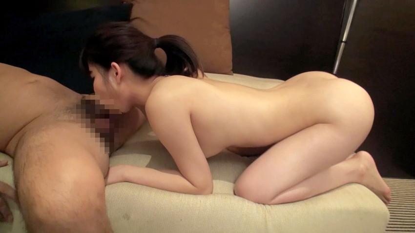 【フェラチオエロ画像】これからセックスそれともお掃除フェラ!?全裸でフェラチオ! 36