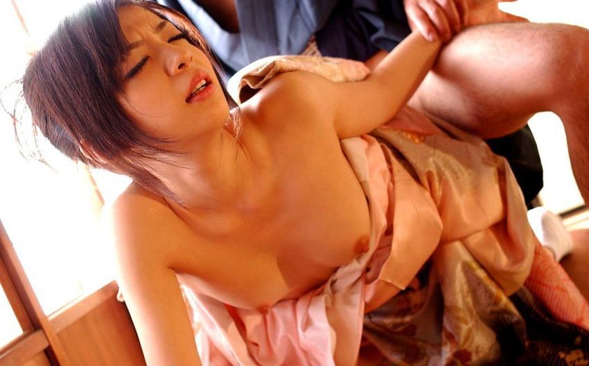 【和服エロ画像】和服姿でエロ写真!日本人男子なら感動モノだよな!?www 05