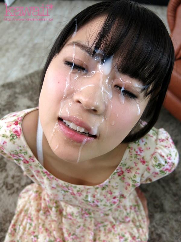 【顔射エロ画像】顔にザーメンぶっかけられた女の子たちの表情って抜けるだろ!?