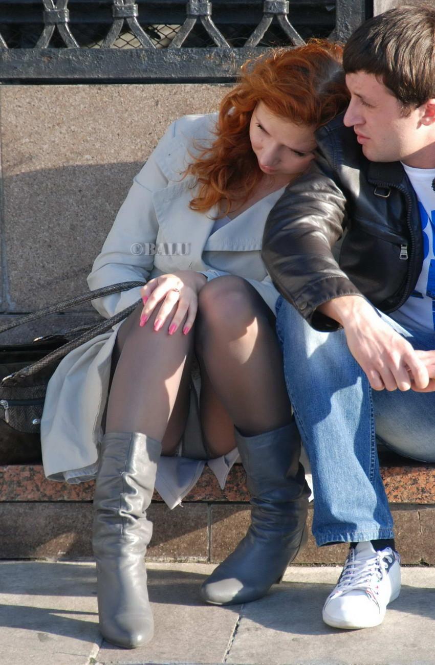 【海外パンチラエロ画像】海外女性たちの股間を狙った海外パンチラエロ画像 36