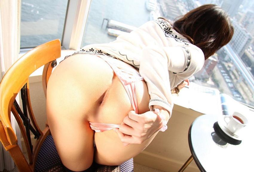 【アナルエロ画像】オマンコよりも恥ずかしい!?お尻の穴をカメラに見せつけ! 45