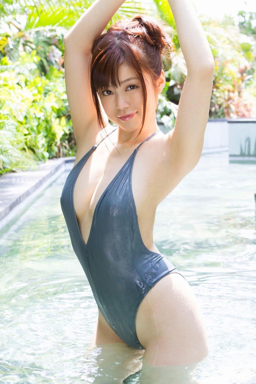 【水着各種エロ画像】女の子たちの水着姿にこだわった無差別水着特集!www 28