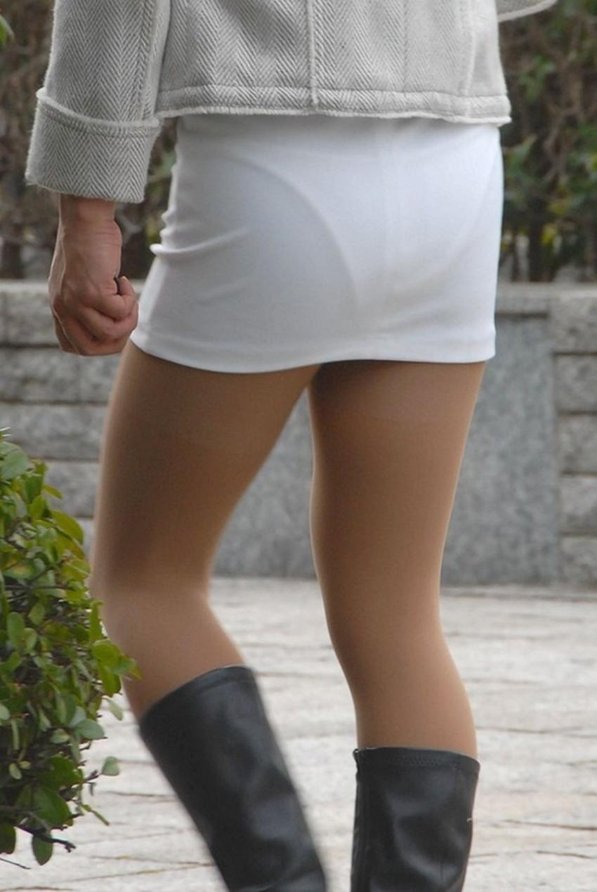 【街撮り着衣透けエロ画像】街中で着衣の透けてる女の子を激写したった! 12