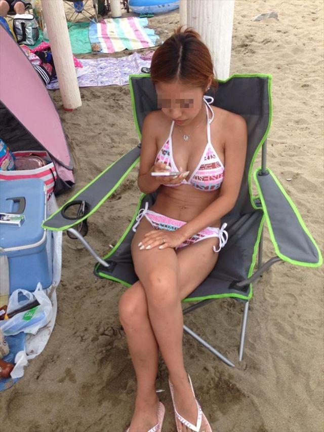 【素人水着エロ画像】夏間近!いよいよ訪れる待ち遠しい素人娘たちの水着の季節!