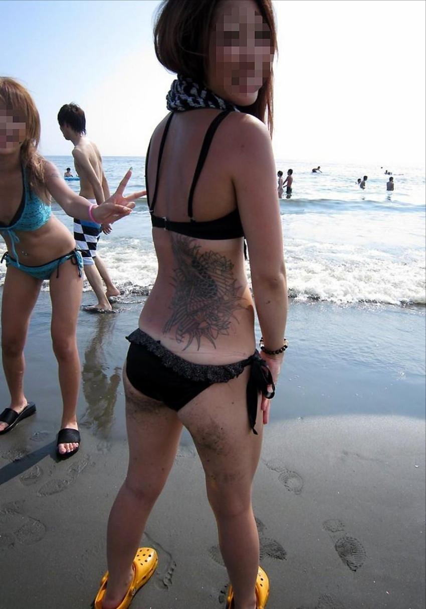 【素人水着エロ画像】夏間近!いよいよ訪れる待ち遠しい素人娘たちの水着の季節! 25