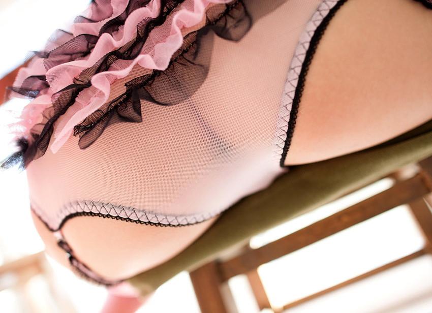 【シースルーエロ画像】スケスケの着衣!これじゃ全裸と大差ないだろ?www 02